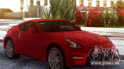 Nissan 370Z Original Red pour GTA San Andreas