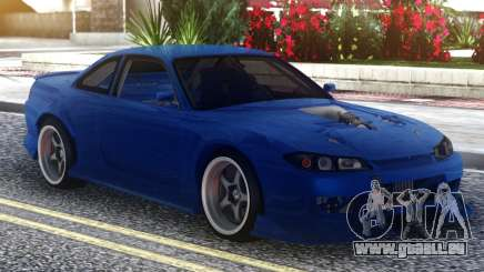Nissan Silvia S15 Blue pour GTA San Andreas