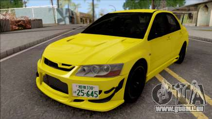 Mitsubishi Lancer EVO VII Initial D Fifth Stage pour GTA San Andreas