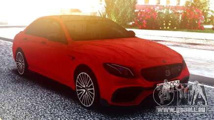 Mercedes-Benz E63 W213 02.2017 für GTA San Andreas