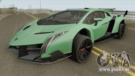 Lamborghini Veneno HQ 2013 für GTA San Andreas