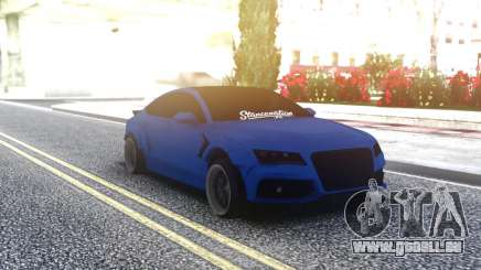 Audi RS7 Sportback Blue pour GTA San Andreas
