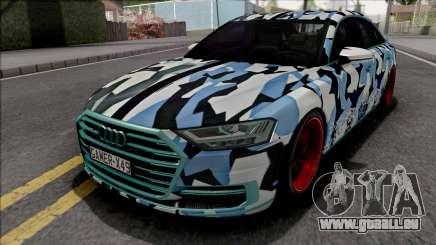Audi A8 2018 Custom pour GTA San Andreas
