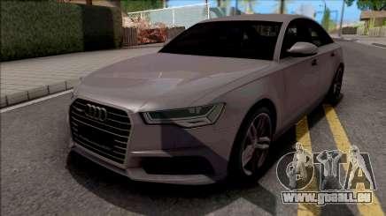Audi A6 C7 2017 pour GTA San Andreas