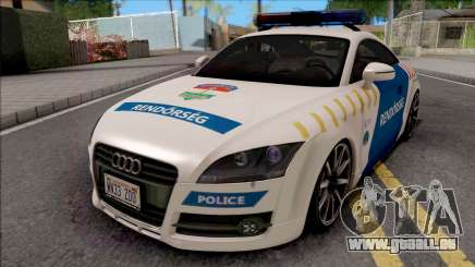Audi TT Magyar Rendorseg Updated Version für GTA San Andreas
