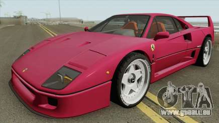 Ferrari F40 1987 HQ für GTA San Andreas