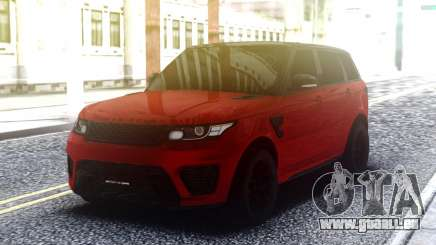 Range Rover Sport SVR Red pour GTA San Andreas
