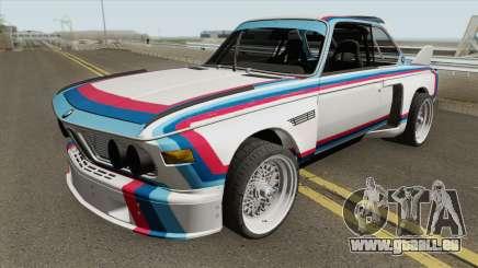 BMW 3.0 CSL 1975 (White) pour GTA San Andreas