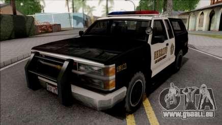 Chevrolet Silverado Police SA Style pour GTA San Andreas
