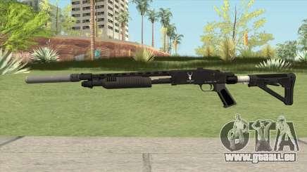 Shrewsbury Pump Shotgun GTA V V2 für GTA San Andreas