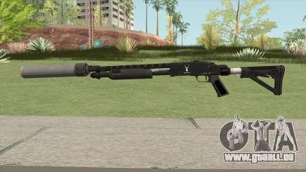 Shrewsbury Pump Shotgun GTA V V6 für GTA San Andreas