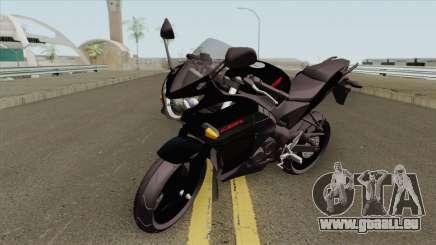 Honda CBR 125R Black für GTA San Andreas