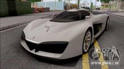 Pininfarina H2 Speed 2017 für GTA San Andreas