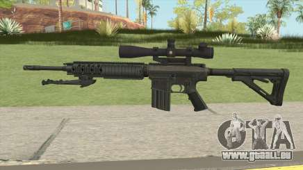KAC SR-25 Semi Automatic Sniper Rifle pour GTA San Andreas
