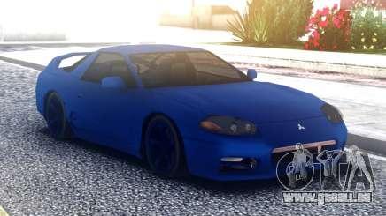 Mitsubishi 3000GT Blue pour GTA San Andreas