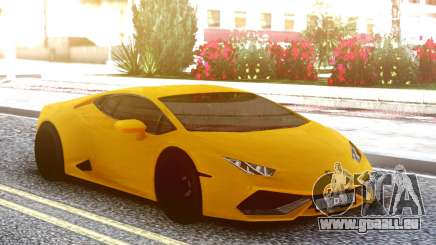 Lamborgini Huracan Yellow Original pour GTA San Andreas
