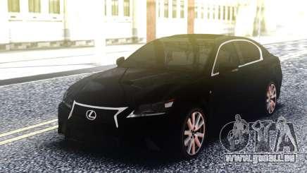 Lexus GS 350 Black pour GTA San Andreas