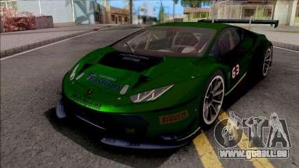 Lamborghini Huracan GT3 2015 Paint Job Preset 2 pour GTA San Andreas