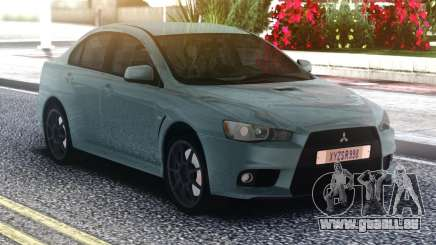 Mitsubishi Lancer Evo 10 pour GTA San Andreas