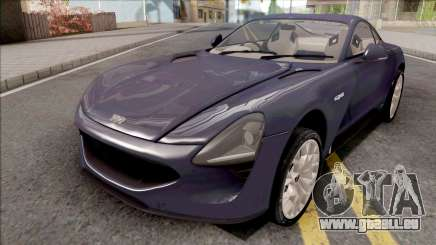 TVR Griffith 2019 für GTA San Andreas