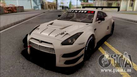 Nissan GT-R Nismo GT3 2014 Paint Job Preset 3 pour GTA San Andreas
