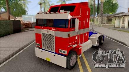 Kenworth K100 Optimus Prime Repintado  für GTA San Andreas
