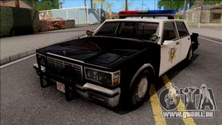 Chevrolet Caprice 1986 Police LVPD SA Style für GTA San Andreas