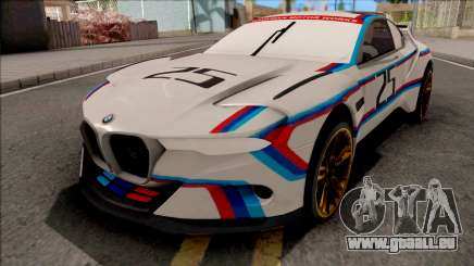 BMW CSL 3.0 Hommage R 2015 pour GTA San Andreas