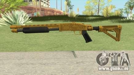 Shrewsbury Pump Shotgun (Luxury Finish) GTA V V1 für GTA San Andreas