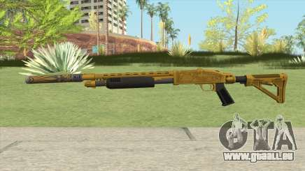 Shrewsbury Pump Shotgun (Luxury Finish) GTA V V2 für GTA San Andreas