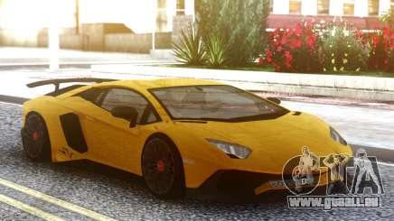 Lamborghini Aventador SuperVeloce für GTA San Andreas