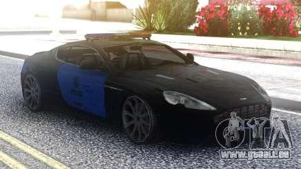 Aston Martin DB9 2013 LAPD für GTA San Andreas