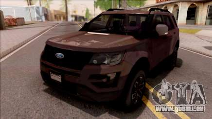 Ford Explorer 2019 pour GTA San Andreas