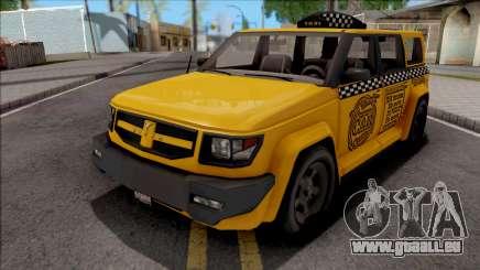 Saints Row IV Steer Taxi pour GTA San Andreas