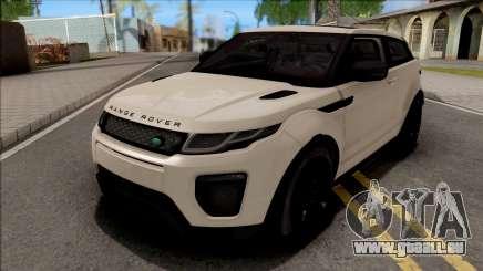 Land Rover Range Rover Evoque White für GTA San Andreas