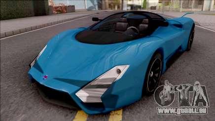 SSC Tuatara 2011 High Reflections Style für GTA San Andreas