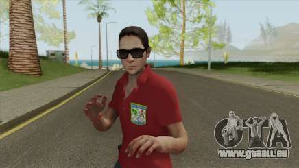 Forca Nacional Pericia Skin pour GTA San Andreas