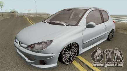 Peugeot 206 High Quality pour GTA San Andreas