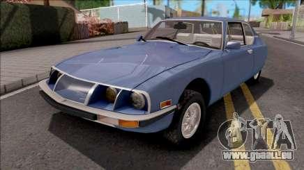 Citroen SM 1971 Blue pour GTA San Andreas