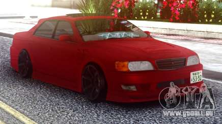 Toyota Chaser Red Sedan für GTA San Andreas