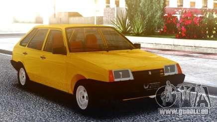 VAZ-2108 Jaune pour GTA San Andreas