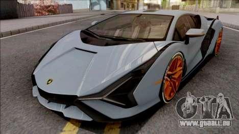 Lamborghini Sian 2020 pour GTA San Andreas