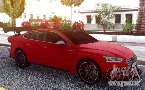 Audi S5 Sportback pour GTA San Andreas