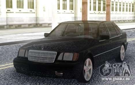 Mercedes-Benz S600 W140 pour GTA San Andreas