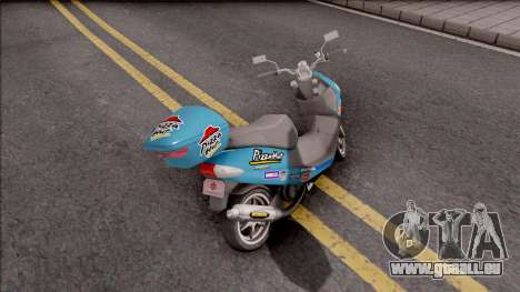 Suzuki Address 110 Custom für GTA San Andreas
