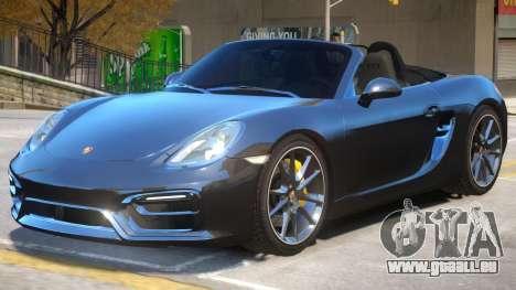 Porsche Boxster GTS pour GTA 4