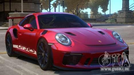 2018 Porsche 911 GT3 RS v1.1 pour GTA 4