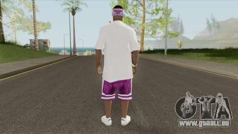 New Ballas Skin V1 (LQ) für GTA San Andreas