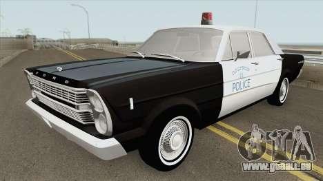 Ford Galaxie 1966 Police pour GTA San Andreas