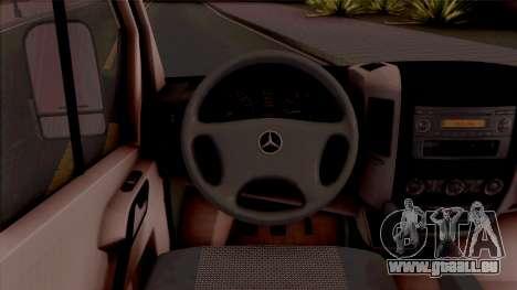 Mercerdes-Benz Sprinter Cdi pour GTA San Andreas
